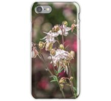 Pale pink Columbines iPhone Case/Skin