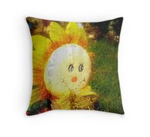 Sunshine On A Rainy Day Throw Pillow