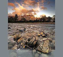 River Run Dusk Hues by Ken Wright
