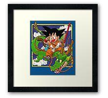 Dragon Ball Volume 1 cover Framed Print