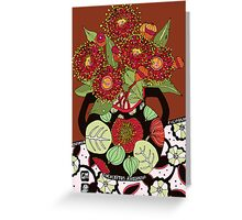 Corymbia Ficifolia Greeting Card