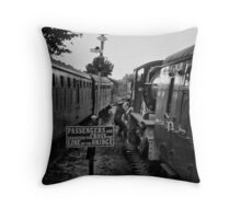 Changing of the guards Throw Pillow