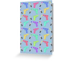 Lipstick and Guns Greeting Card