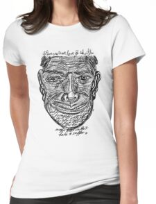DABNOTU_IF_THERE_WAS_MORE_GEGL_1 Womens Fitted T-Shirt