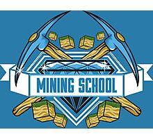 Mining School Photographic Print