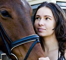 The Admiration between Lauren and Inca #3 by MeliaJade