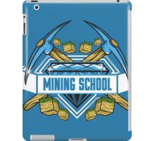 Mining School iPad Case/Skin