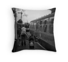 Rejected for toys of yesterday Throw Pillow