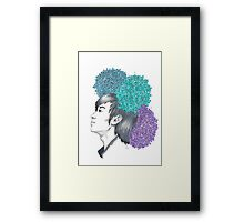 I am your FLOWER BOYFRIEND || Minwoo Framed Print