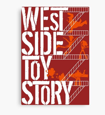 West Side Toy Story Canvas Print