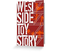 West Side Toy Story Greeting Card