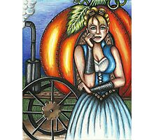 Steampunk Cinderella Photographic Print