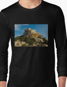 Quéribus castle (Château de Quéribus) Long Sleeve T-Shirt