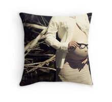 I can see what you see Throw Pillow
