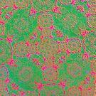 Iridium Atoms Green Pink by atomicshop