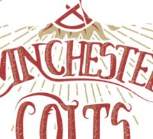 Winchester Colts Sticker