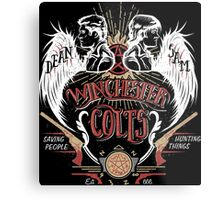 Winchester Colts Metal Print