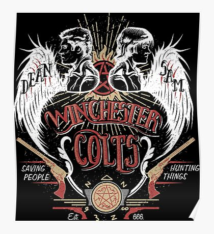 Winchester Colts Poster