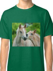 Cuddling Haflinger foals Classic T-Shirt