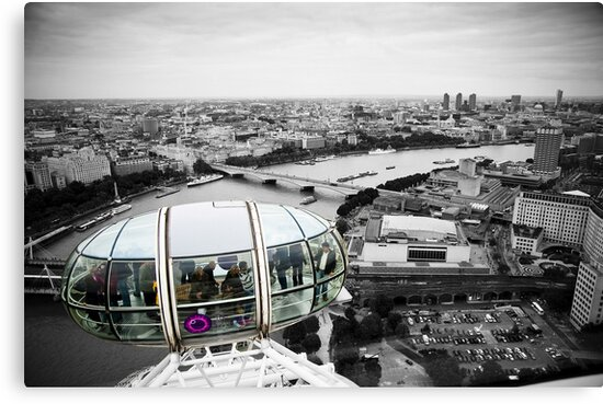 The Eye-Pod: London Eye. Southbank London. UK. by DonDavisUK