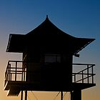 Currumbin Beach Lifeguard Tower by James Torrington