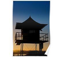 Currumbin Beach Lifeguard Tower Poster
