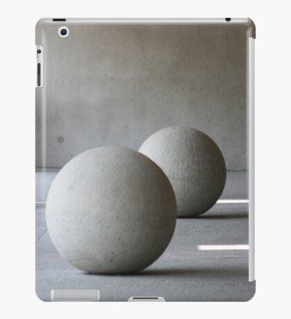 Round Sculptures iPad Case/Skin