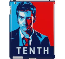 Doctor Who - Vote For Tenth Doctor iPad Case/Skin