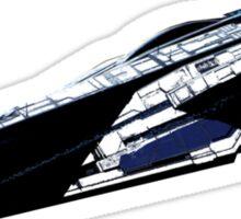 Mass Effect Alliance Cruiser Sticker