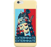 Doctor Who - Vote For Daleks iPhone Case/Skin