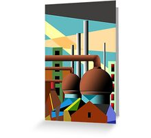 industry 8 Greeting Card