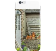 Outside the potting shed iPhone Case/Skin