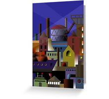 industry 7 Greeting Card