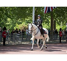 Police on horseback during the State Opening Of Parliament London Photographic Print