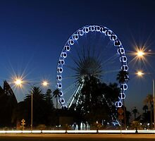Wheel of Perth at Dawn 1 by probins01