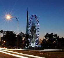 Wheel of Perth at Dawn 2 by probins01