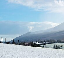 Snowy Mournes by thegreendogs