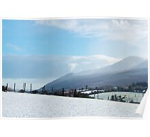 Snowy Mournes Poster
