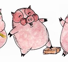 Three Little Pigs by Naomi  O'Connor