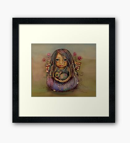 tiny and isabella  Framed Print