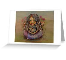 tiny and isabella  Greeting Card
