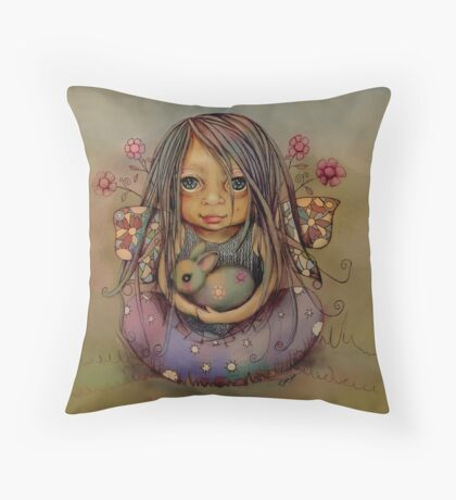 tiny and isabella  Throw Pillow