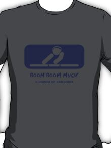 Boom Boom Music - Version 02 T-Shirt