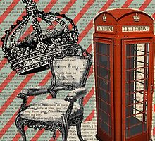 retro jubilee victorian chair london telephone booth by lfang77