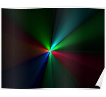 Rays Of Color Poster