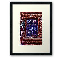 Urban Door Fine Art Print Framed Print