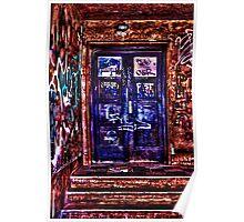 Urban Door Fine Art Print Poster