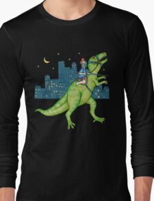Dino Rider Long Sleeve T-Shirt