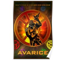 The Lantern Corps - Avarice Poster