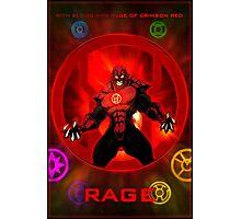 The Lantern Corps - Rage Photographic Print